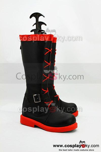RWBY Red Trailer Ruby Cosplay Boots Shoes