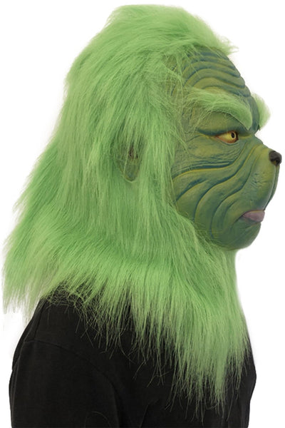 How the Grinch Stole Christmas Grinch Mask Adult Latex