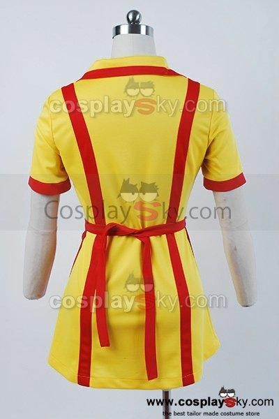 2 Broke Girls Max Caroline Waiter Uniform Dress Costume Cosplay