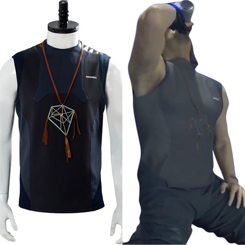 Death Stranding Nomad Dream Catcher Necklace Restroom Vest Sam Porter Bridges Cosplay Costume