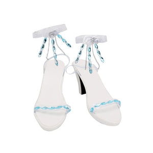 Frozen 2 Elsa Ahtohallan Cave Queen Boots Cosplay Shoes