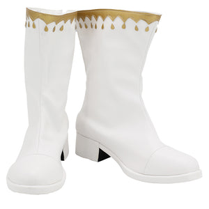 Elizabeth Liones Boots Halloween Costumes Accessory The Seven Deadly Sins Cosplay Shoes