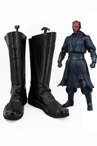 Star Wars Sith Darth Maul Boots Cosplay Shoes