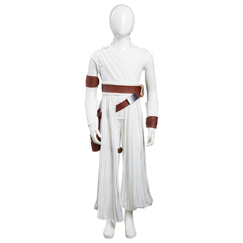 Rey Kids Children Pants Top Outfits Halloween Carnival Suit Star Wars: The Rise of Skywalker Cosplay Costume