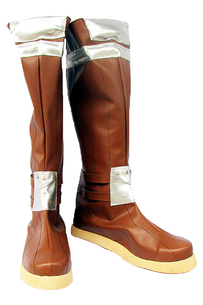 Ragnarok Online Archer Cosplay Boots Shoes Brown