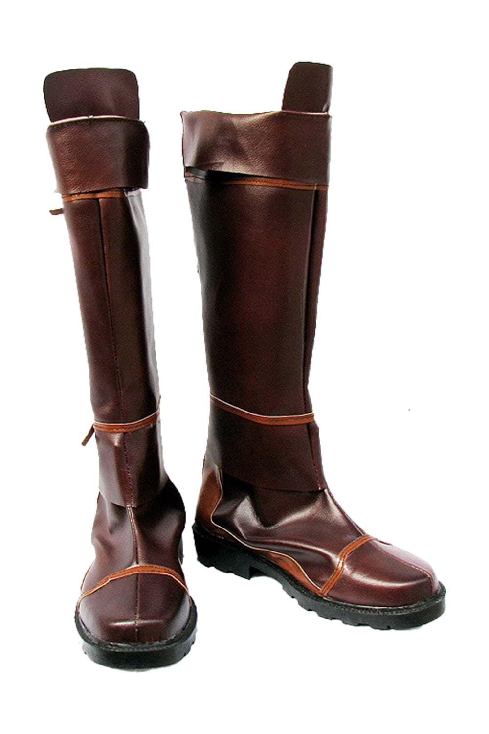 The Legend of Zelda Cosplay Boots Shoes Brown