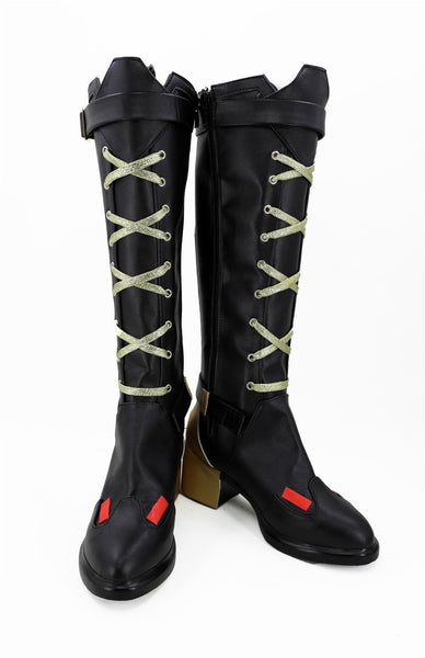 Overwatch Ashe Elizabeth Caledonia Cosplay Shoes Boots