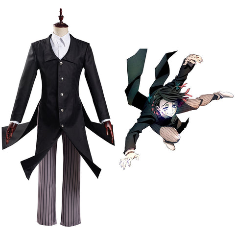 Enmu Halloween Carnival Suit Kimetsu no Yaiba Movie: Mugen Ressha-hen/Demon Slayer Movie: InfinityTrain Cosplay Costume