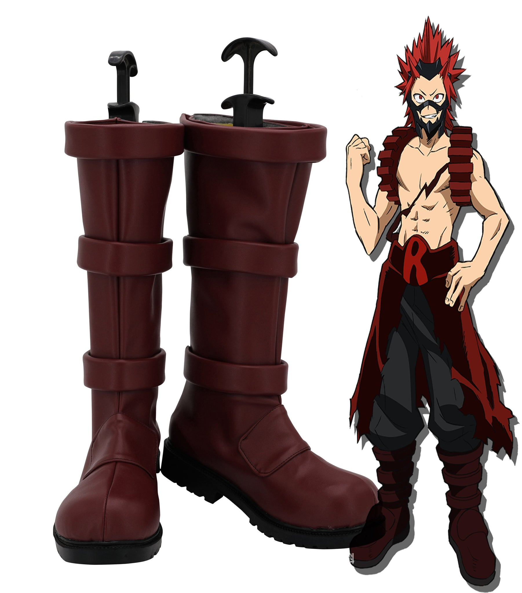 My Hero Academia Boku no Hero Kirishima Eijiro Cosplay Shoes