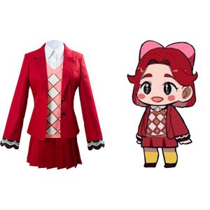 Celeste Women Uniform Outfit Game Animal Crossing Cosplay Costume Halloween Carnival Costume