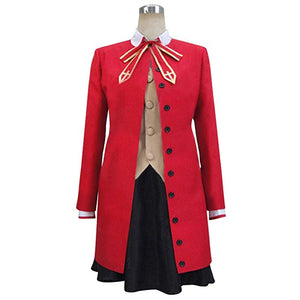 Fate/stay night Rin Tosaka Uniform Outfit Cosplay Costume