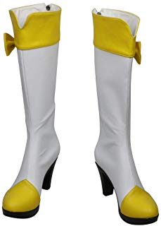 Smile Precure! Pretty Cure Yayoi Kise Cure Peace Cosplay Shoes Boots