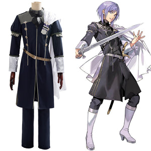 Cindered Shadows Yuri Outfit Game Fire Emblem: Three Houses Cosplay Costume