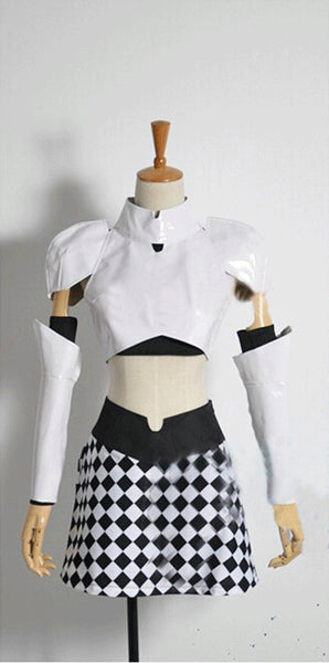 The Animation Miss Monochrome Cosplay Costume