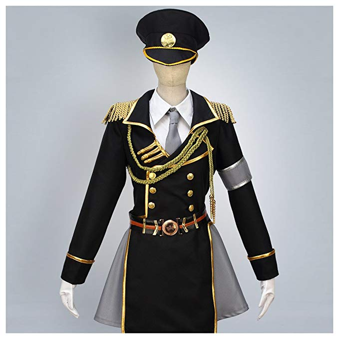 K Return of  Kings Neko Military Uniform Cosplay Costume