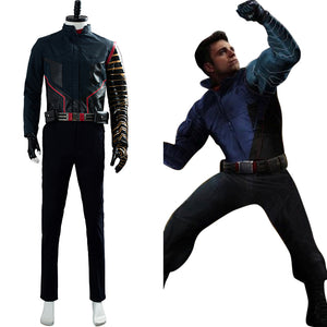 The Falcon and the Winter Soldier 2020 Movie Battle Uniform Outfit Buggy Cosplay Costume