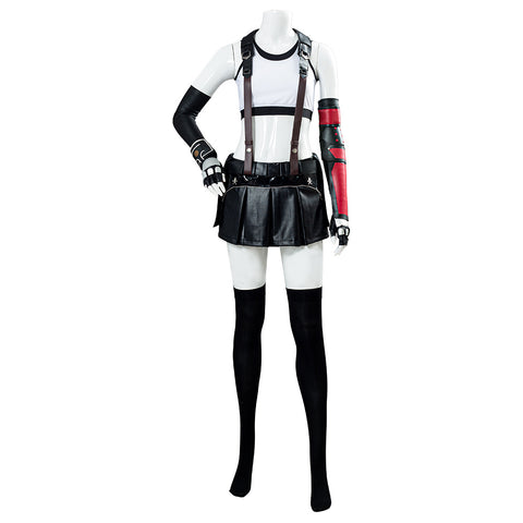 Tifa Lockhart Final Fantasy VII Remake Cosplay Costume