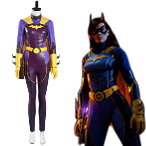 Batwoman Jumpsuit Outfits Halloween Carnival Suit Gotham Knights Cosplay Costume