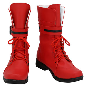 Game Final Fantasy VII Remake Cosplay Tifa Lockhart Boots Shoes Costume Prop Halloween Carnival Party Shoes Custom Made