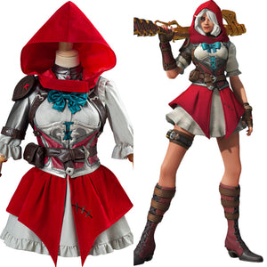 Ashe Elizabeth Caledonia Full Set Halloween Carnival Costume OW Overwatch Cosplay Costume