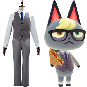 Animal Crossing Cosplay Raymond Cosplay Costume
