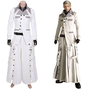 Rufus Shinra Men Outfit Halloween Carnival Costume Final Fantasy VII Remake Cosplay Costume