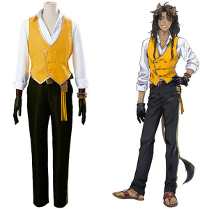 Leona Kingscholar Uniform Outfit Twisted-Wonderland Cosplay Costume Halloween Carnival Costume