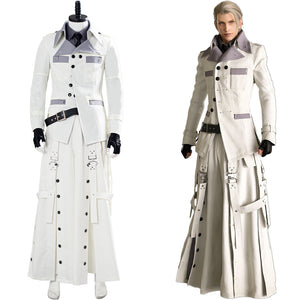 Rufus Shinra Final Fantasy VII Remake Halloween Outfit Cosplay Costume