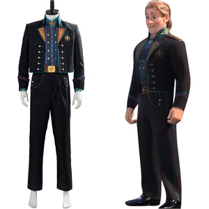 Kristoff Halloween Suit Uniform Outfit Frozen Cosplay Costume