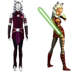 Star Wars: The Clone Wars Costume Ahsoka Tano Cosplay Costume