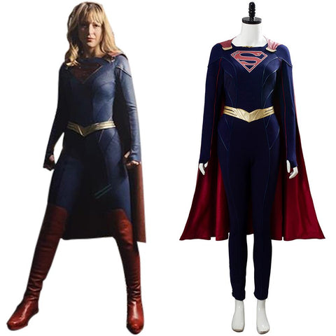 Supergirl Season 5 Kara Danvers New Costume Cosplay