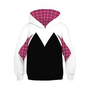 Boys Hoodie Spider-Man: Into the Spider-Verse Miles Morales Gwen 3D Sweatshirt Kids