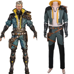 Borderlands 3 Zane Outfit Cosplay Costume