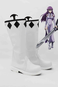 Akame ga KILL! Night Raid Sheele White Boots Cosplay Shoes