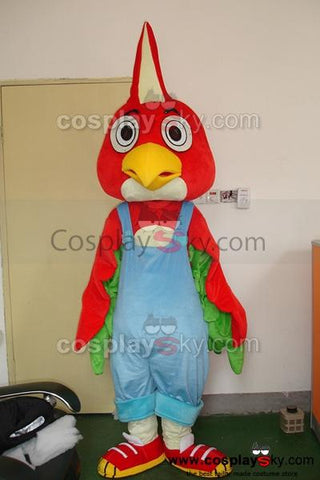 Cartoon Bird Mascot Costume Adult Size