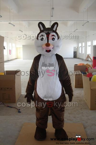 Cartoon Chipmunk Mascot Costume Adult Size