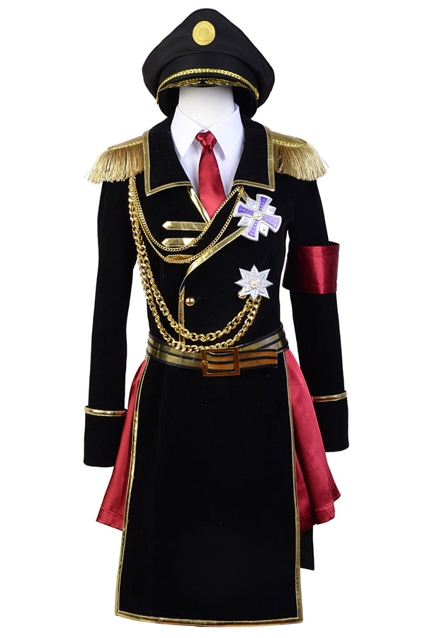 K Return of  Kings Kushina Anna Military Uniform Cosplay Costume