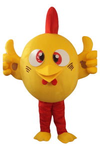 Brand new Cute Chicken Mascot Costume Outfit Suit