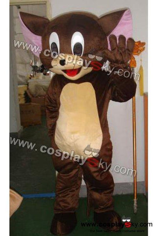 Tom and Jerry Jerry Mouse Mascot Costume Adult Size