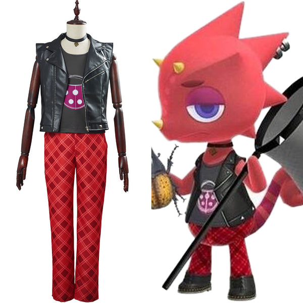 Flick Animal Crossing Adult Halloween Carnival Suit Outfit Cosplay Costume