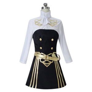Hilda  Women Tube Dress Shirt Outfits Halloween Fire Emblem: Three Houses Cosplay Costume