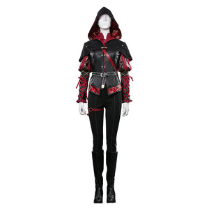 Anna Henrietta Coat Outfits Halloween Carnival Costume The Witcher 3 Cosplay Costume