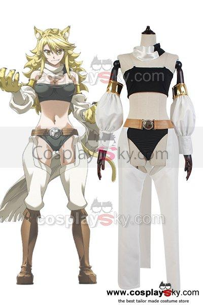 Akame ga KILL! Night Raid Leone Outfit Cosplay Costume
