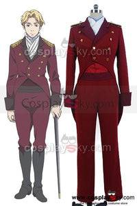 Aldnoah.Zero Martian Knight Cruhteo Uniform Cosplay Costume