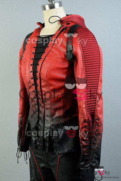 Arrow Season 4 Speedy Thea Queen Red Cosplay Costume