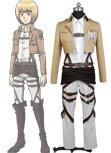 Shingeki no Kyojin Attack on Titan Armin Arlart Cosplay Costume