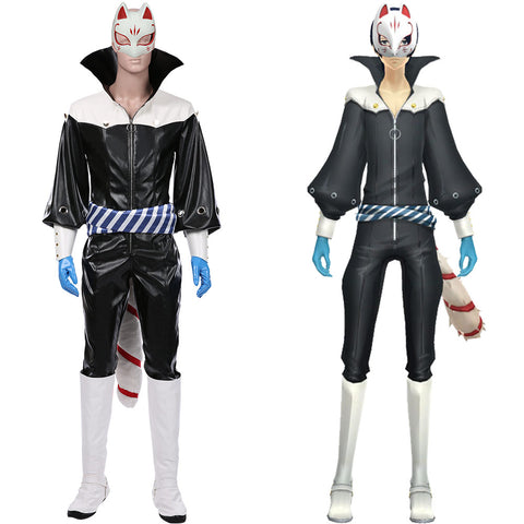 Yusuke Kitagawa Jumpsuit Outfits Halloween Carnival Suit Persona 5 Cosplay Costume