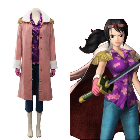 Tashigi Halloween Carnival Costume One Piece:Pirate Warriors 4 Cosplay Costume