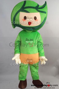 Baby Green Leaves Mascot Cosplay Costume Adult Size