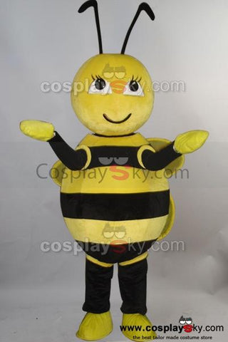 Bee Honeybee Bumblebee Mascot Costume *NEW